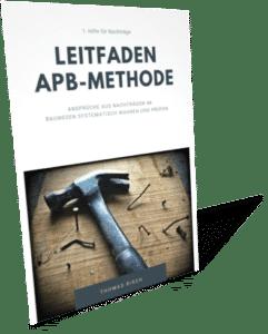Schild - APB-Methode 2